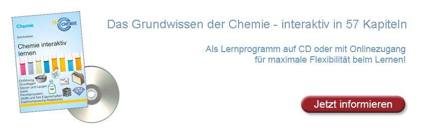 Grundwissen der Chemie - Inhaltsübersicht